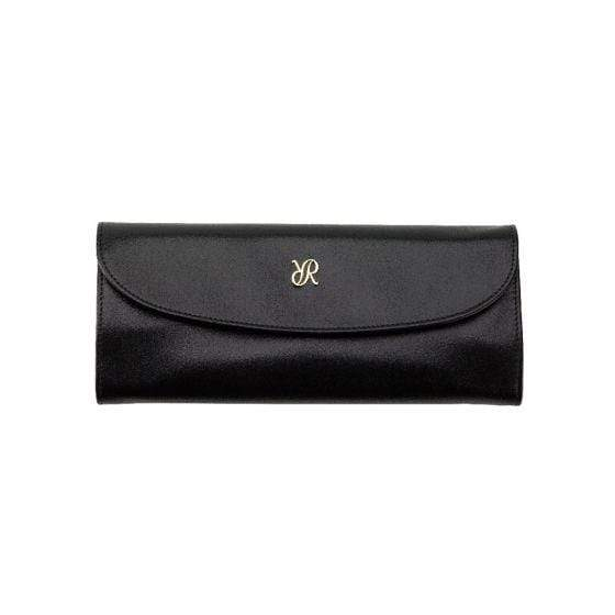 Rapport London Aria Jewelry Roll Black Armadillo Safe and Vault