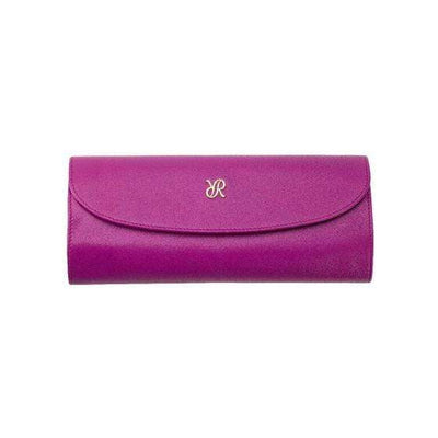 Rapport London Aria Jewelry Roll Lilac Armadillo Safe and Vault