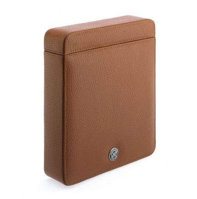 Rapport London Berkeley Tan Double Watch Slipcase Armadillo Safe and Vault