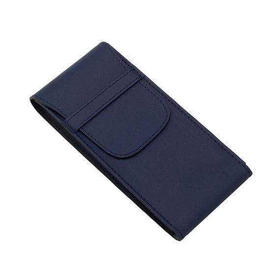 Rapport London Hyde Park Single Watch Pouch in Navy Armadillo Safe and Vault