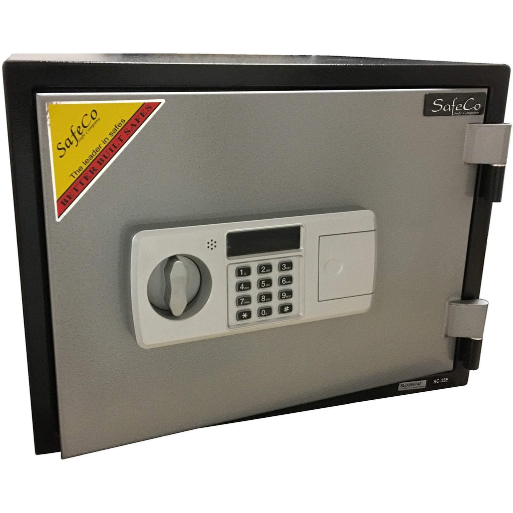 SafeCo HS35-E Two Hour Home Fireproof Safe Armadillo Safe and Vault
