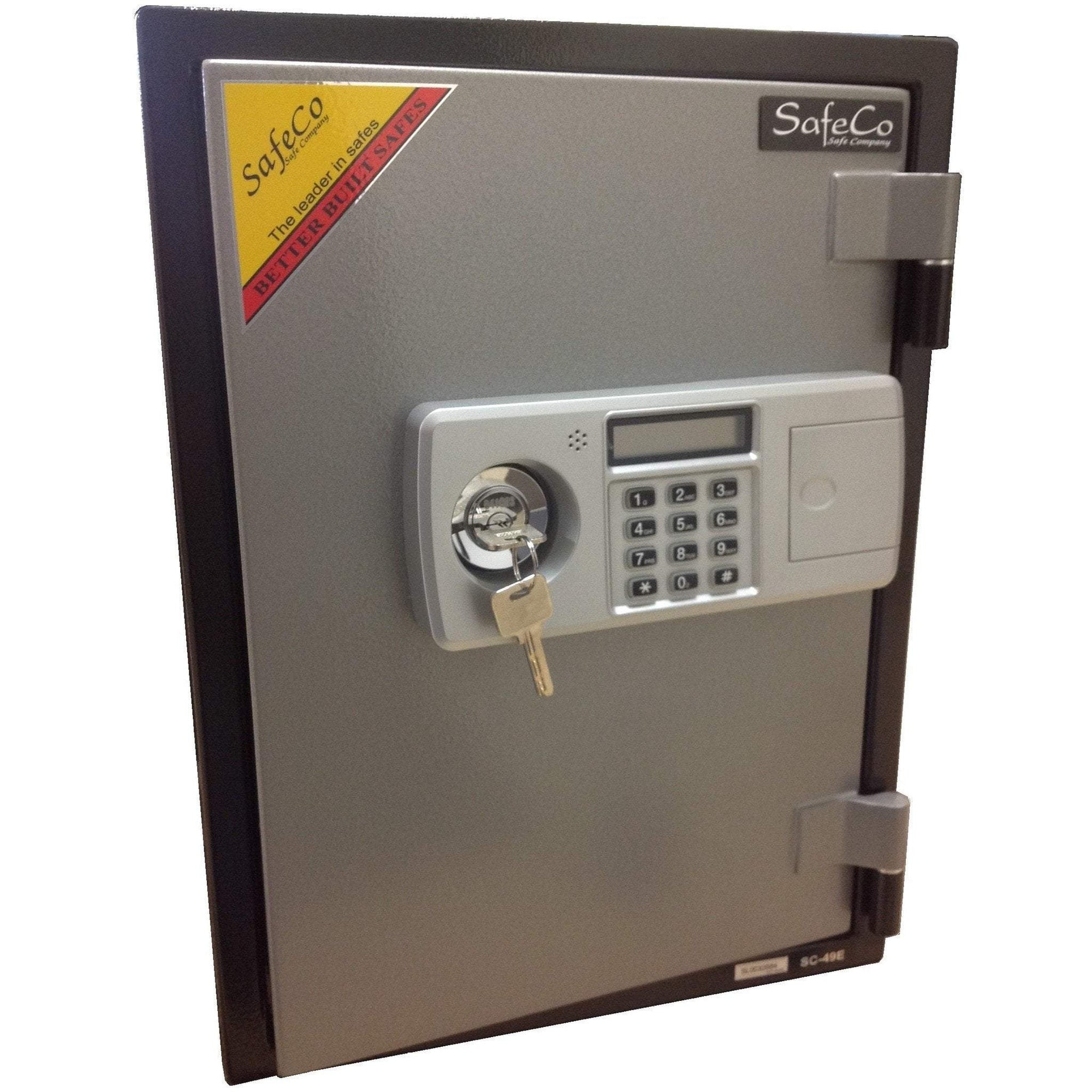 SafeCo HS49-E Two Hour Home Fireproof Safe Armadillo Safe and Vault