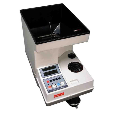 Semacon S-100 Series S-140 Heavy Duty Coin Counters / Sorters Armadillo Safe and Vault