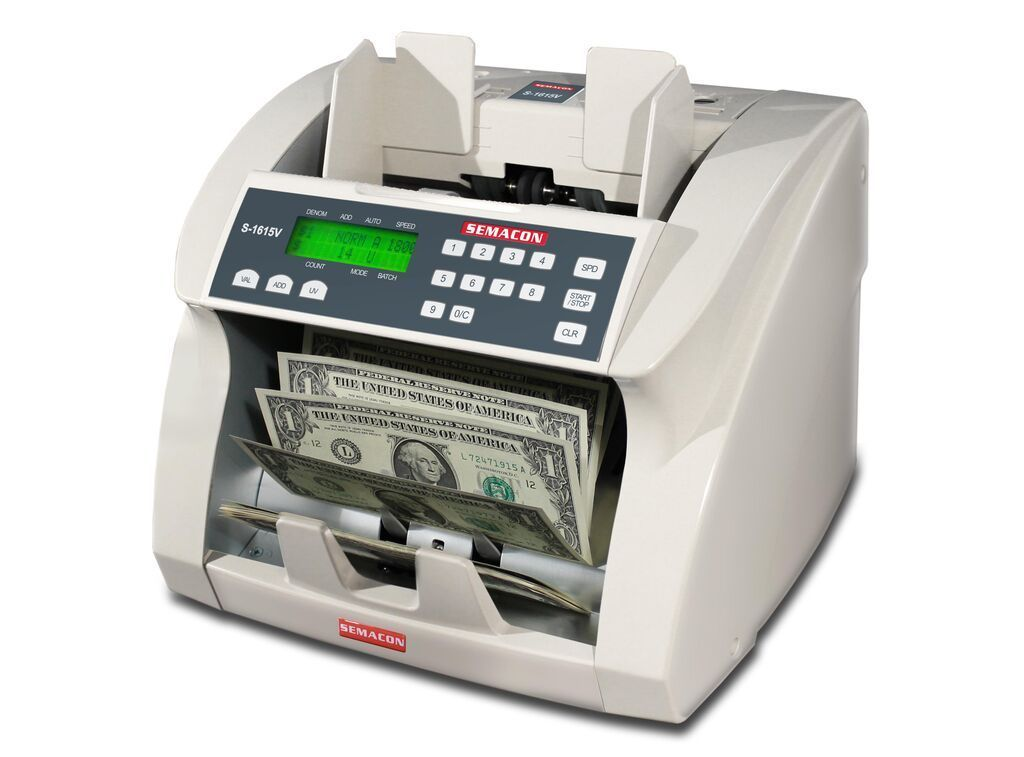 Semacon S-1600V Series S-1615V Premium Bank Grade Currency Value Counters Armadillo Safe and Vault