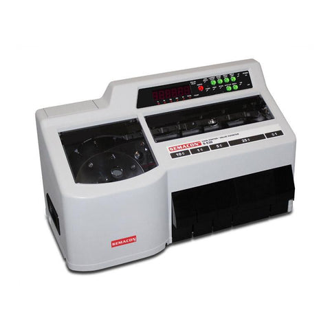 Semacon S-500 Series S-530 Heavy Duty Coin Sorter / Value Counter Armadillo Safe and Vault