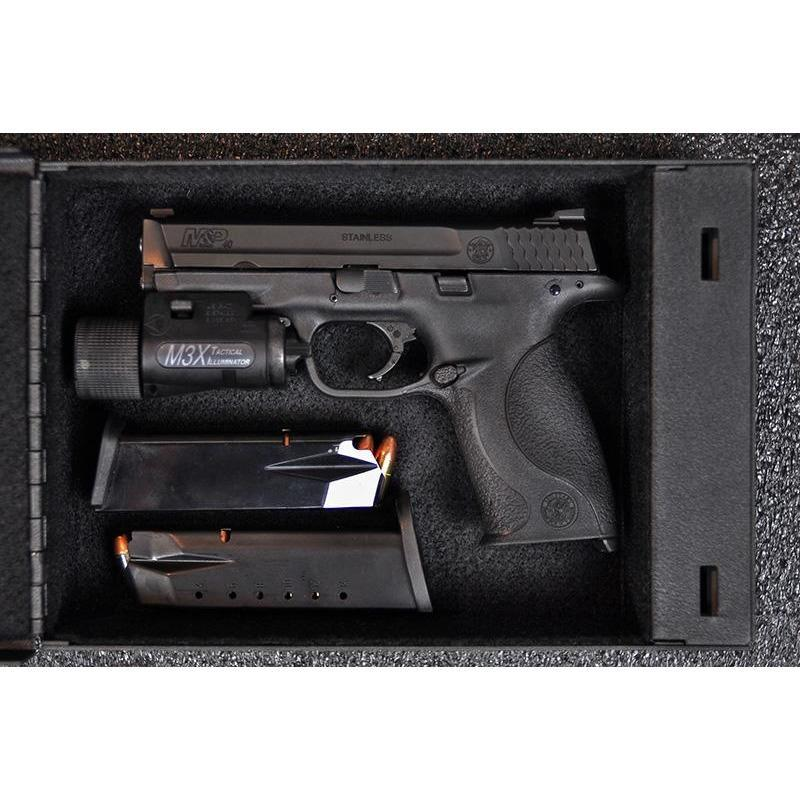 SHOTLOCK Handgun Solo-Vault 200M Armadillo Safe and Vault