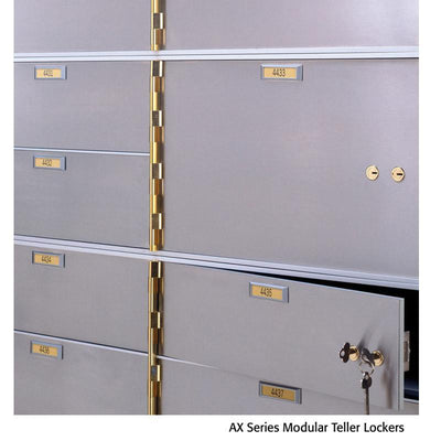 Socal - Bridgeman Safes AXL-3-22 Teller Lockers Armadillo Safe and Vault