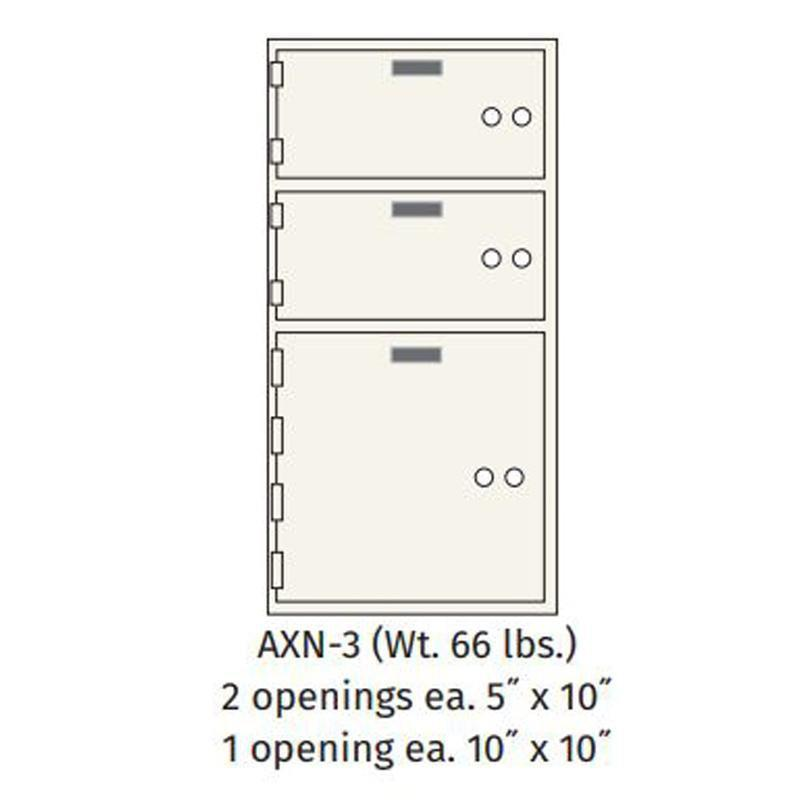Socal - Bridgeman Safes AXN-3 Deposit Box Armadillo Safe and Vault