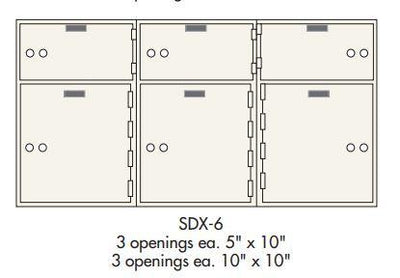 Socal - Bridgeman Safes SDX-6 Deposit Box Armadillo Safe and Vault