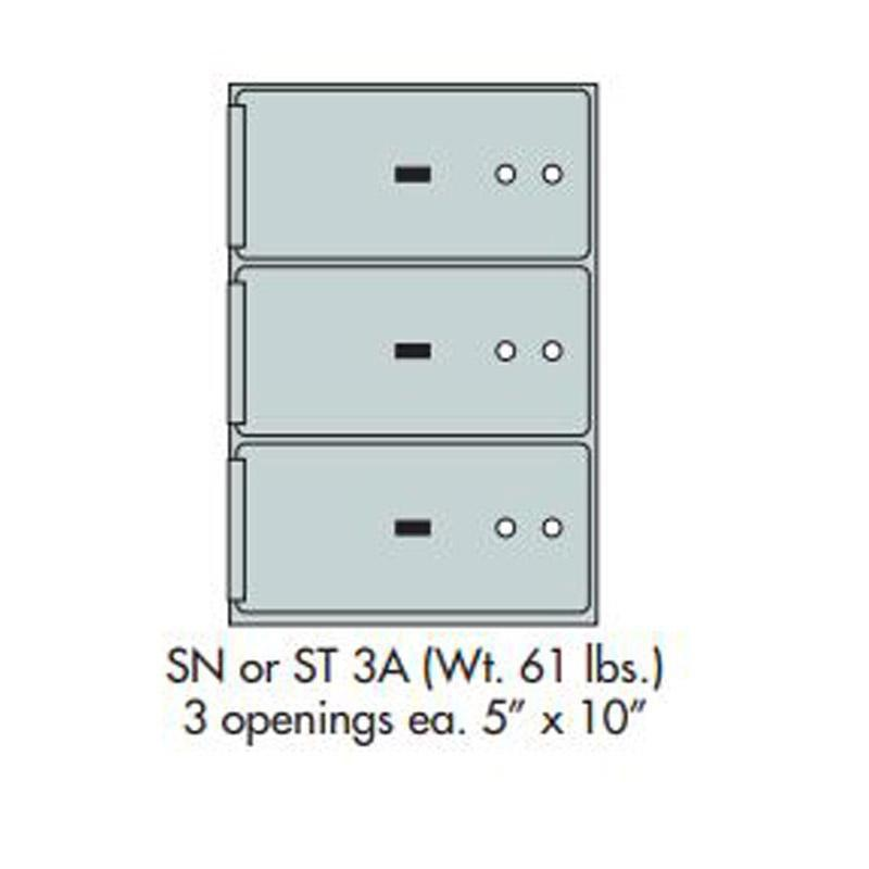Socal - Bridgeman Safes ST-3A Deposit Box Armadillo Safe and Vault