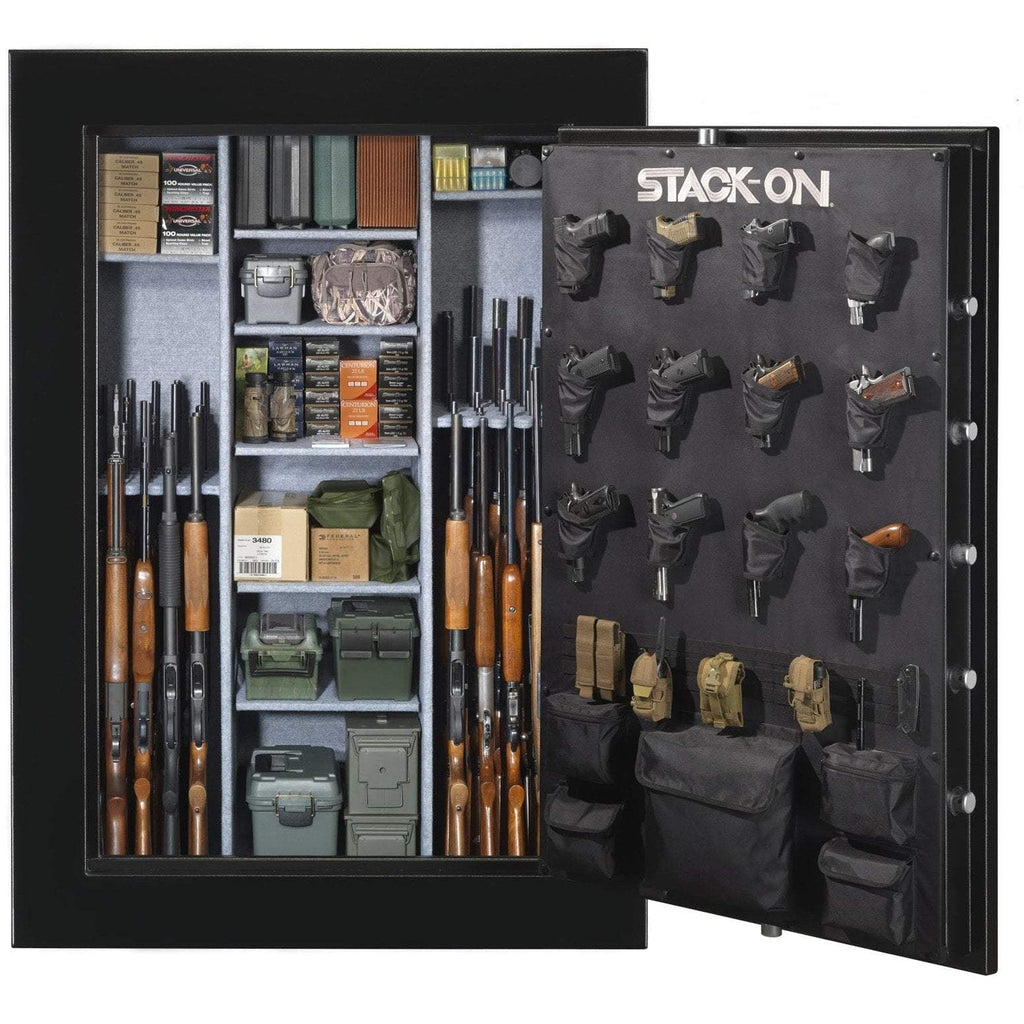 Stack-On E-90-MB-E-S-72 Elite 90 Gun Safe – 72″ Armadillo Safe and Vault