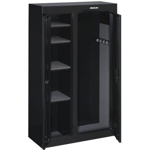 Stack-On GCDB-924 10 Gun Double Door Security Cabinet Armadillo Safe and Vault