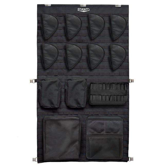 Stealth Tactical Molle Door Panel Organizer - Large Armadillo Safe and Vault