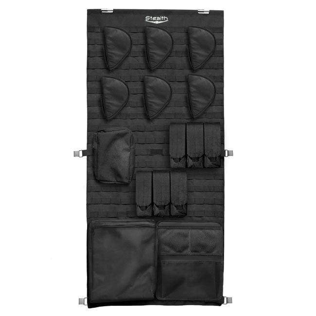 Stealth Tactical Molle Door Panel Organizer - Medium Armadillo Safe and Vault