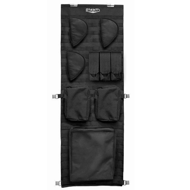Stealth Tactical Molle Door Panel Organizer - Small Armadillo Safe and Vault