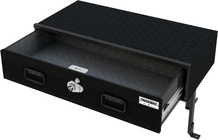 TruckVault Elevated Line Ford Explorer (2020-Current) 1 Drawer Armadillo Safe and Vault