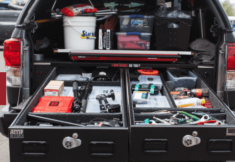 TRUCKVAULT Pickup 2 drawer Armadillo Safe and Vault