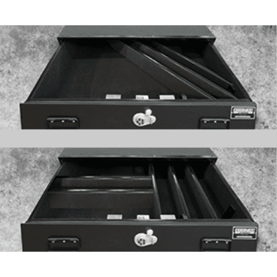 TruckVault SUV 2 drawer Armadillo Safe and Vault