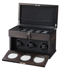 Volta - 31560031 3 Watch Winder Rustic Brown