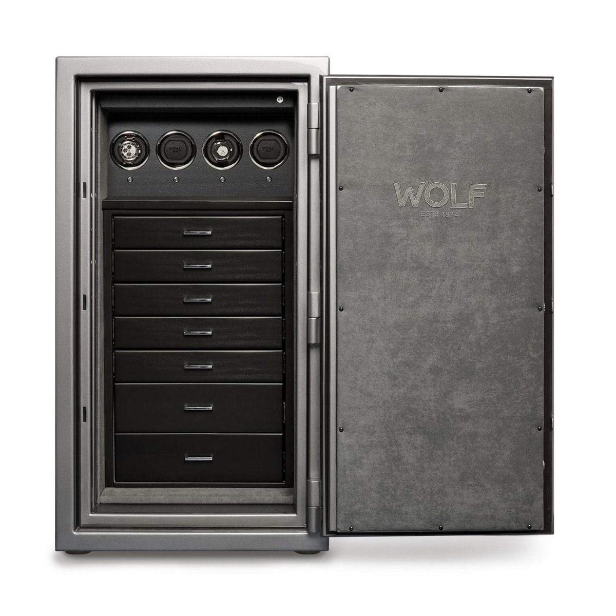 WOLF 1834 Atlas 4 Piece Winder Safe Armadillo Safe and Vault