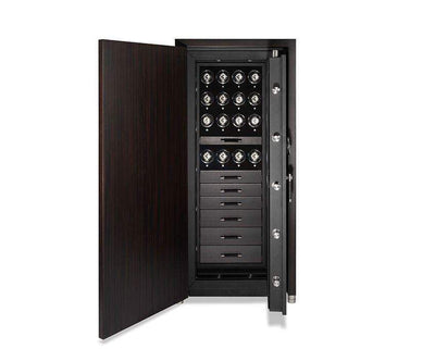 WOLF 1834 CHURCHILL 16 WINDERS 6 DRAWERS WATCH SAFE Armadillo Safe and Vault