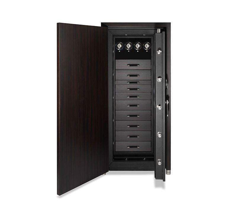 WOLF 1834 CHURCHILL 4 WINDERS 9 DRAWER WATCH SAFE Armadillo Safe and Vault