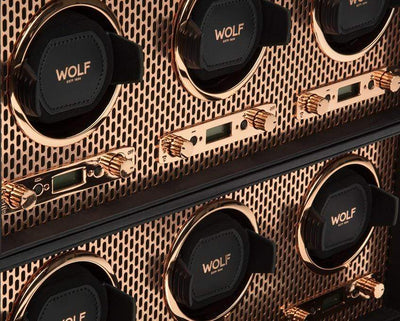 Wolf AXIS 6 Piece Winder Armadillo Safe and Vault