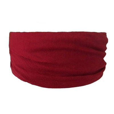 Headbands of Hope - Tube Turban Burgundy