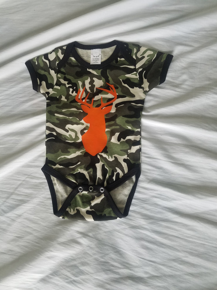 Camo Deer Infant Crawler