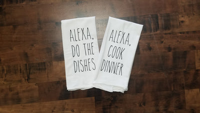 Alexa, Kitchen Towels