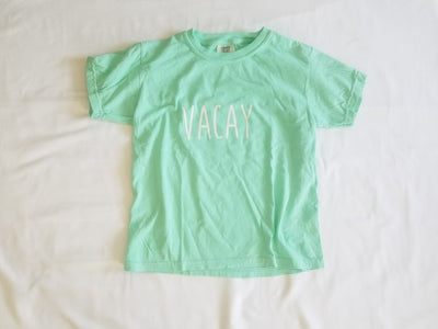 Simple Sayings Vacay Comfort Colors Youth Short Sleeve T-shirt