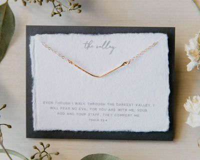Dear Heart Designs - The Valley 14kt Gold Fill