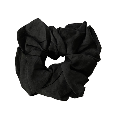 Headbands of Hope - Scrunchie Black Solid
