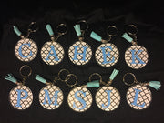 Monogrammed Key Chains