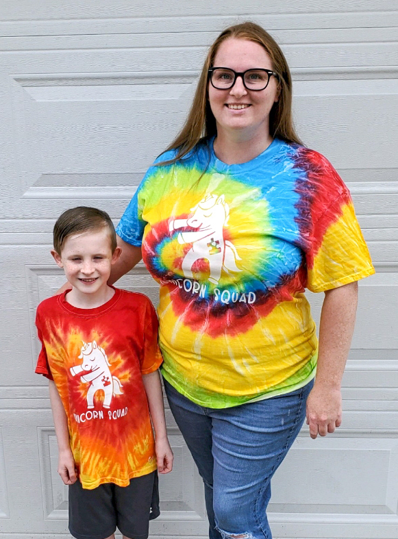 Youth Unicorn Squad Autism Awareness T-Shirt