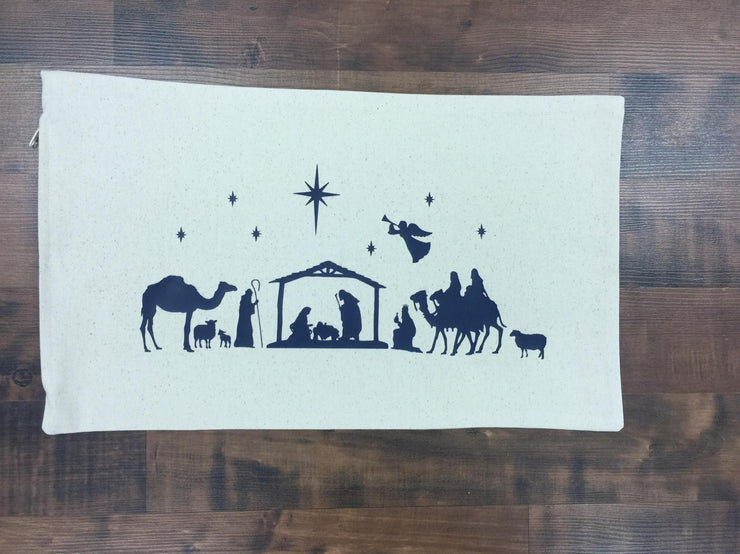 12×20 Nativity Pillow