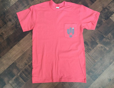 Cactus Monogram Pocket T-shirt