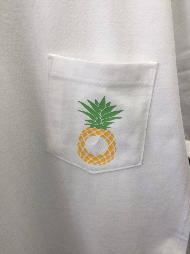 Pineapple Monogram Pocket T-shirt