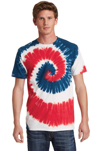 USA Red, White, and Blue Tie Dye T-shirt