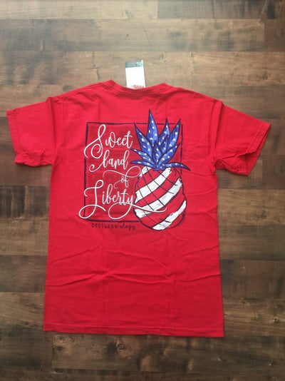 """Sweet Land of Liberty"" Southernology Graphic T-Shirt"