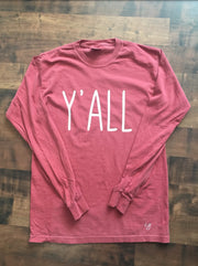 Simple Sayings Long Sleeve Comfort Colors Shirts