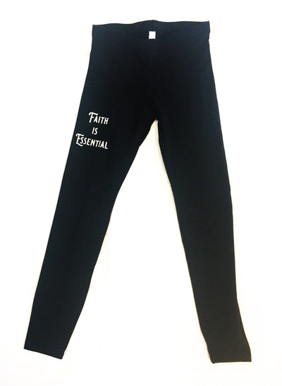 Faith is Essential Leggings