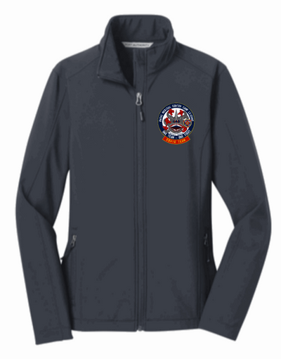 NMCCL Covid Clinic Ladies' Jacket with covid logo on front