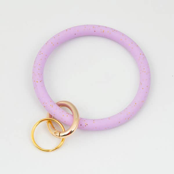 Silicone Keychain Bangle
