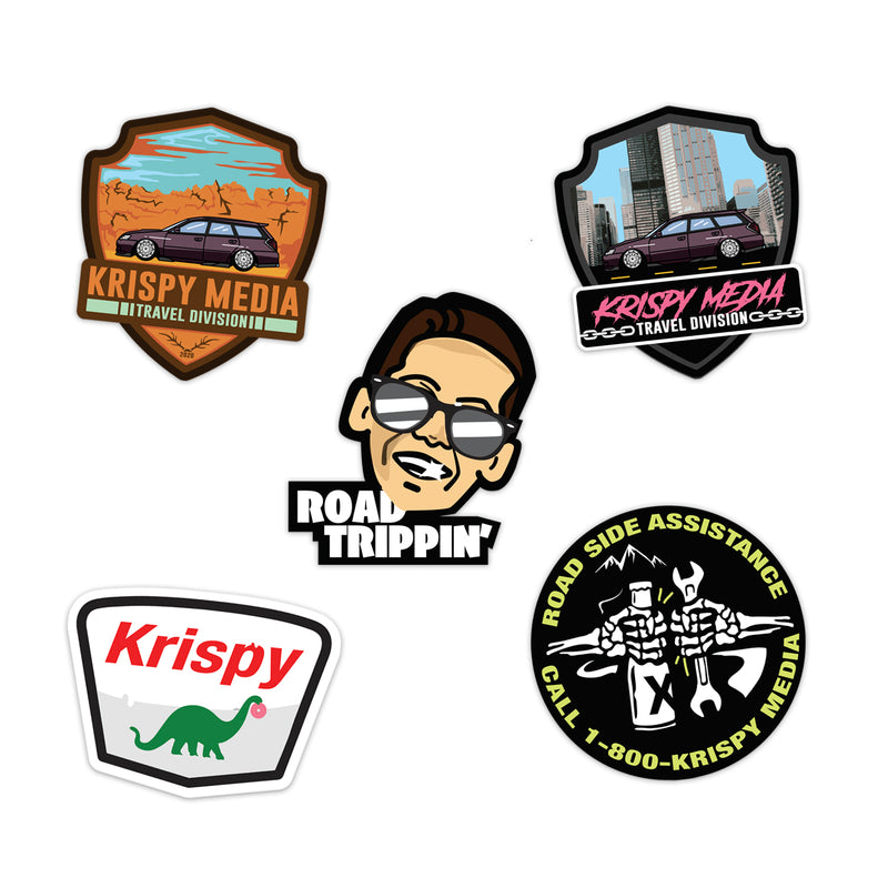 Sticker Pack - Cross Country