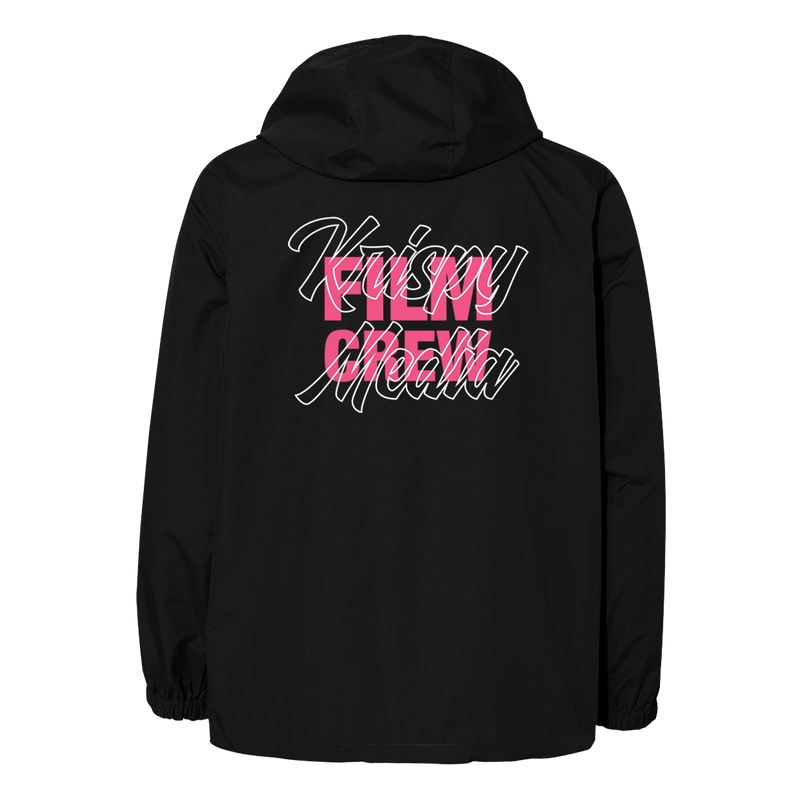 Windbreaker - Black Film Crew