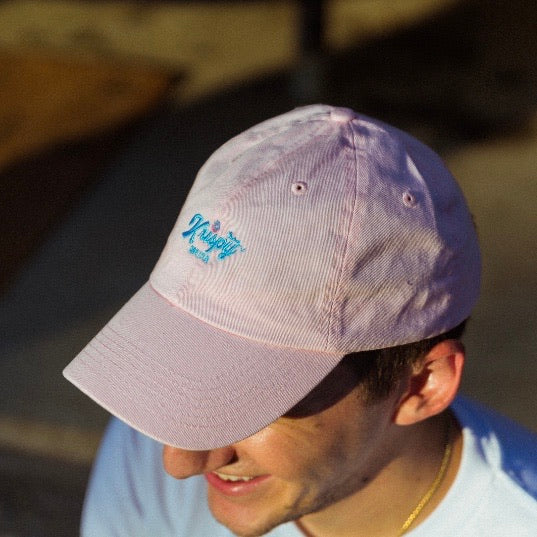 Dad Hat - Pink Crown