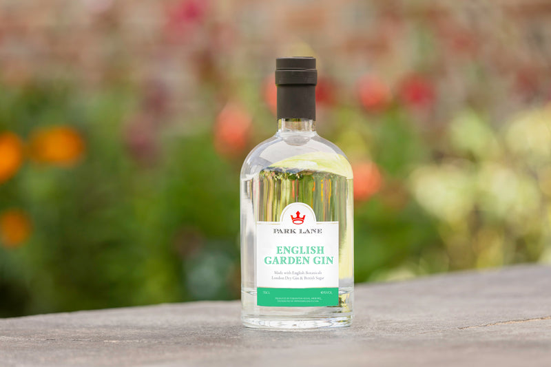 Personalised English Garden Gin bottle 70cl / Gin lovers gift