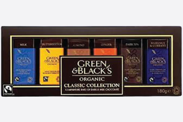 Green and Blacks Organic Collection