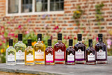 Selection of personalised gin bottles